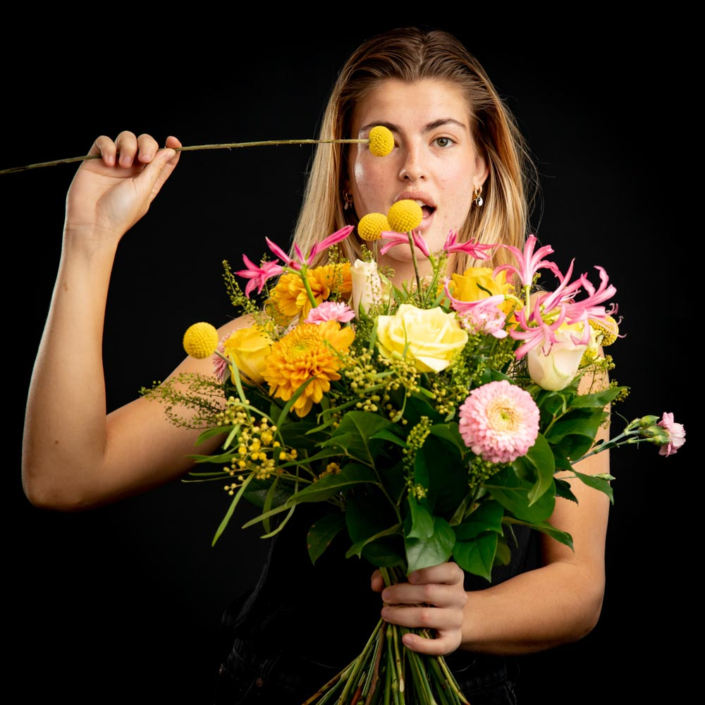 lenteboeketten van bloemen bezorgen