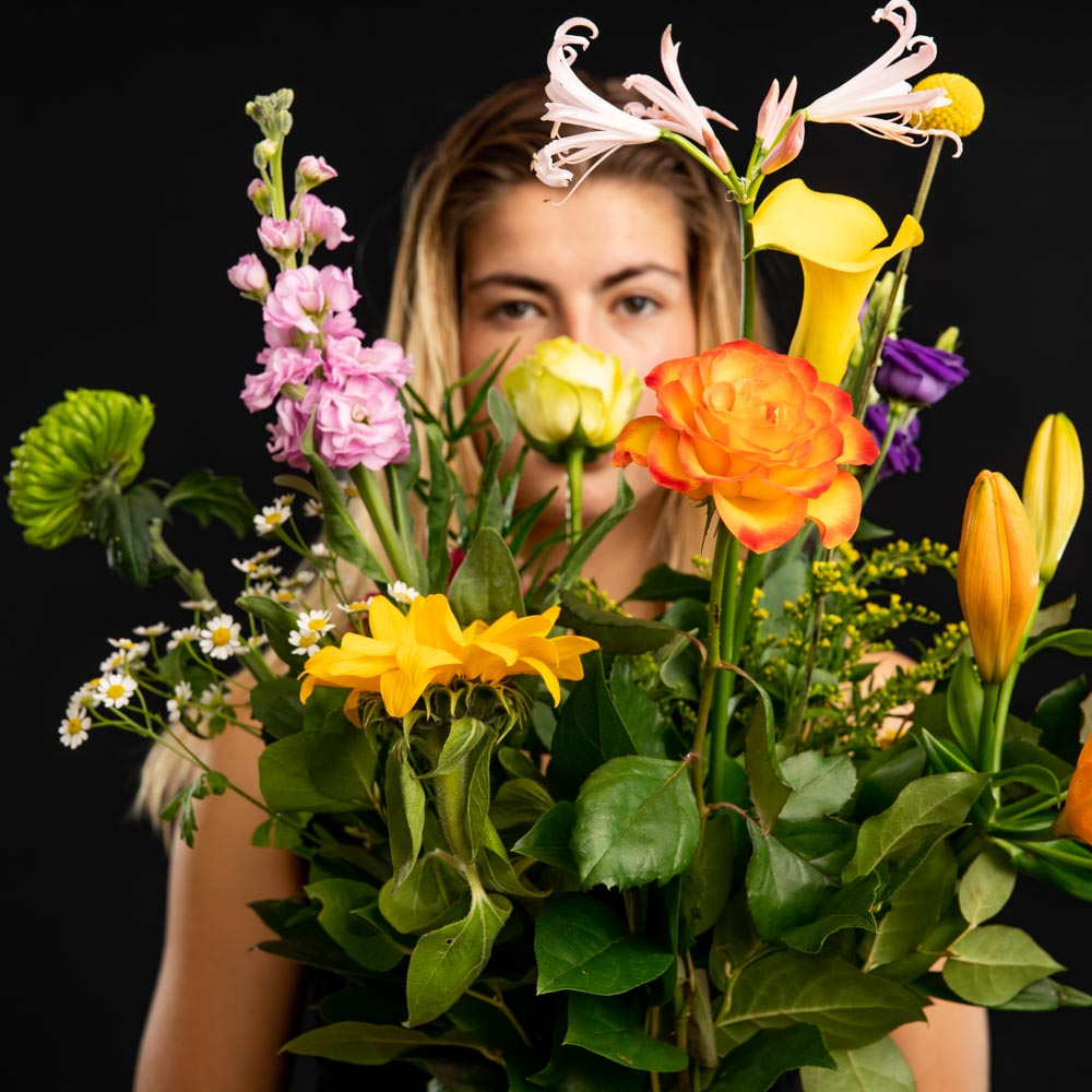 plukboeketten van bloemen bezorgen