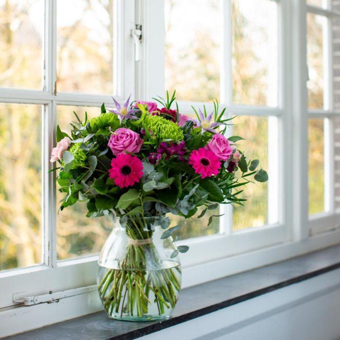 voor mijn liefste raam